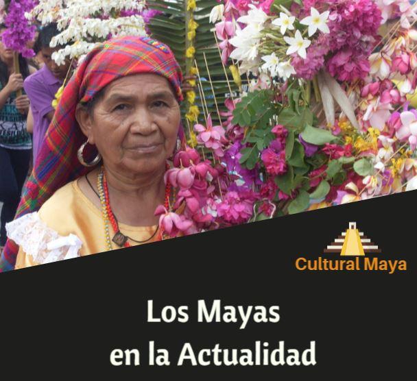 Los mayas en la actualidad
