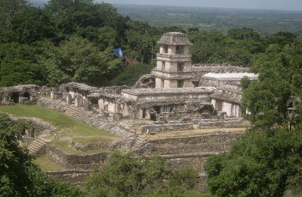 Palenque ruinas de la cultura maya