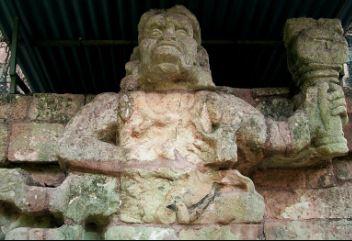 Templo Maya en Copan