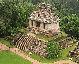 Templo maya arquitectura