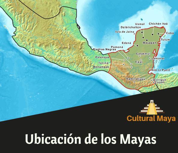 Ubicacion geografica mayas