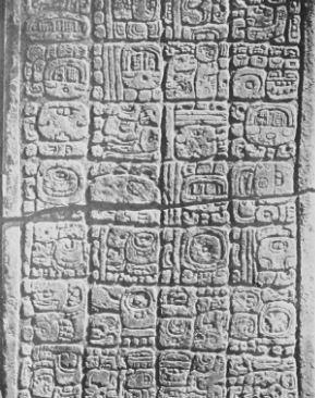 Caracteristicas de la escritura maya