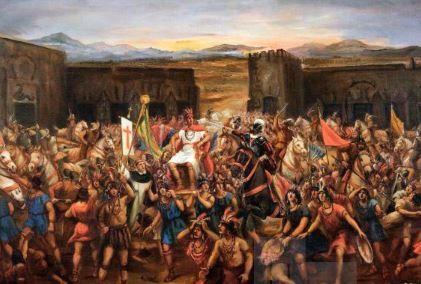Conquista española de los mayas