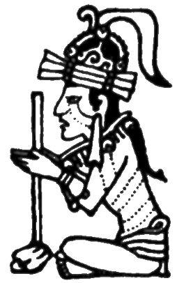 Dios de la guerra maya