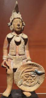 Guerrero Maya escultura