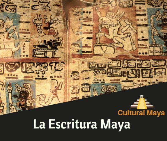 La escritura maya