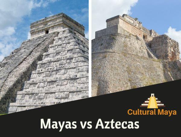 Mayas vs Aztecas