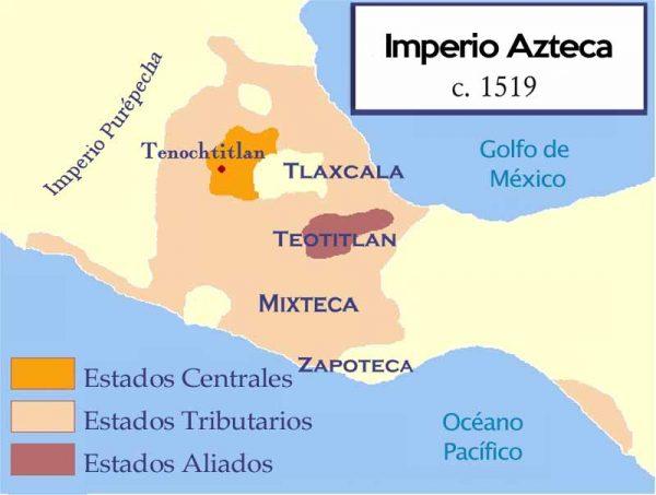 Ubicacion de los aztecas